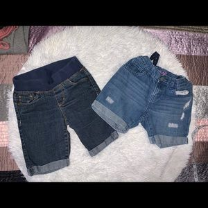 Lot of 4 pairs of girls shorts size 8